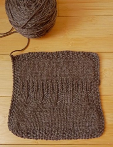 Shepherd's Wool yarn in Hot Chocolate