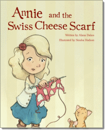 Annie and the Swiss Cheese Scatf