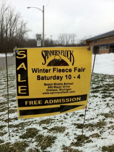 The Spinners Flock has fiber sales 4 times a year.