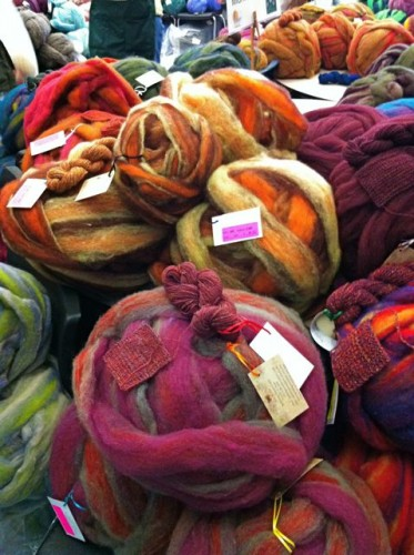 Locally grown corriedale and mohair