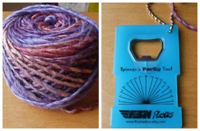Yarn from, WPI gauge from