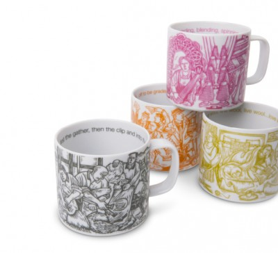Wool Journey mugs