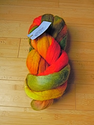 Woolgatherings dyed by Sandy Sitzman