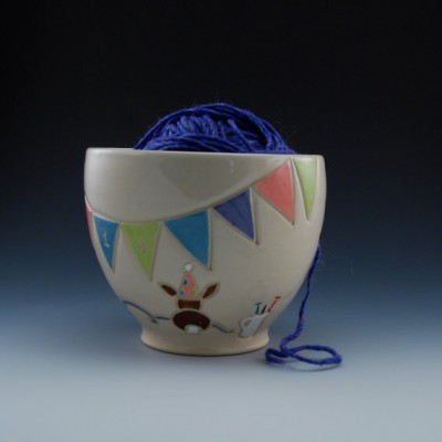 Anniversary yarn bowl