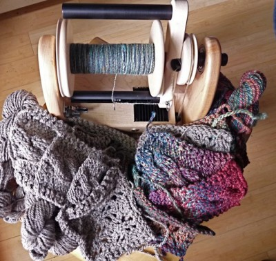 A pile of plying.