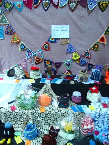 Tea cosy competition entries