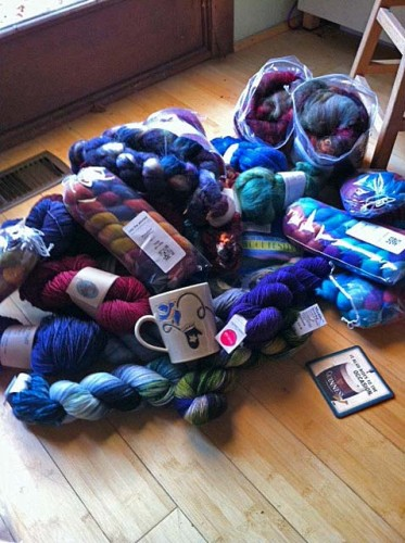 Rhinebeck goodies!