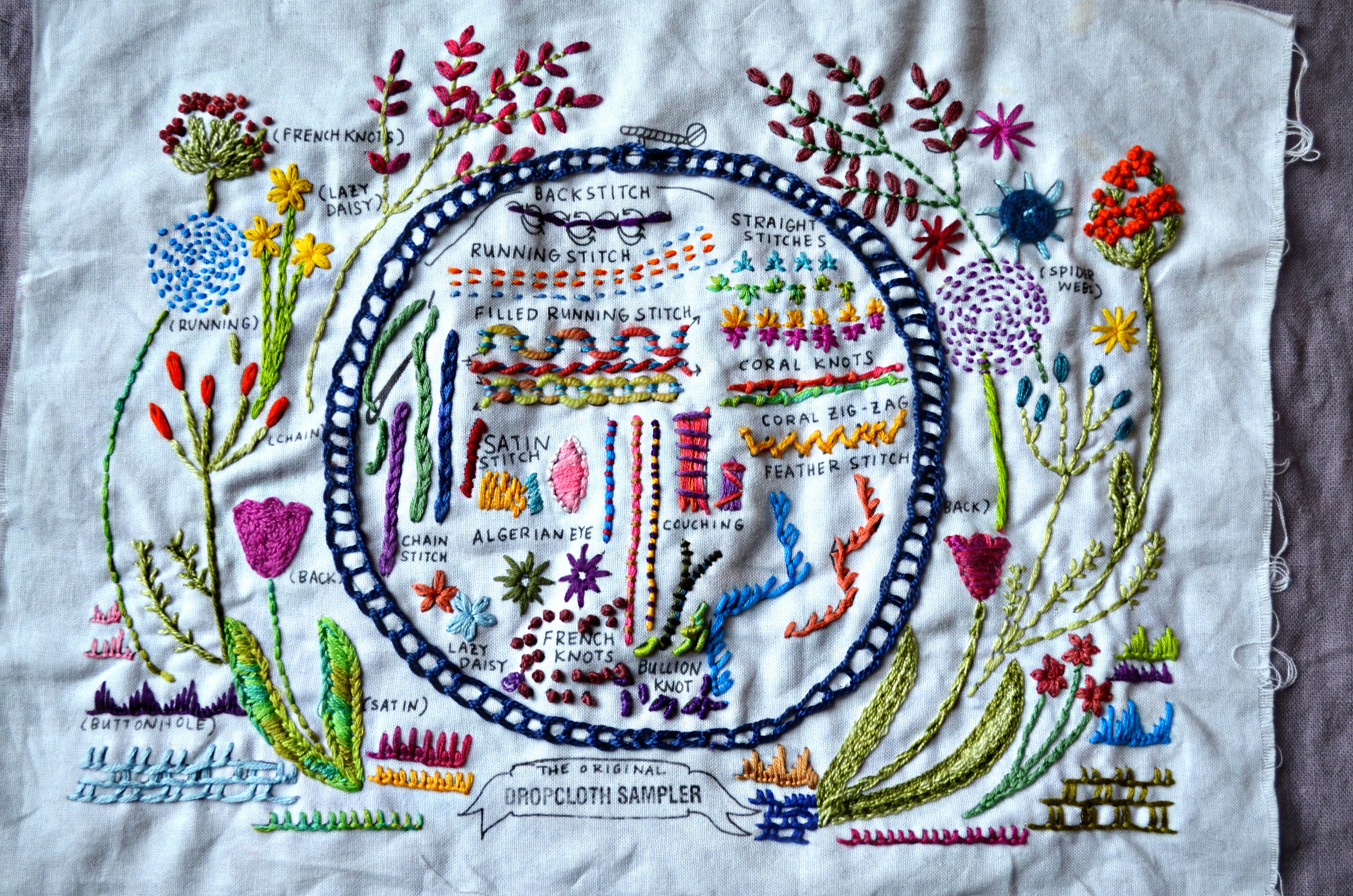 Kb dropcloth embroidery knitty