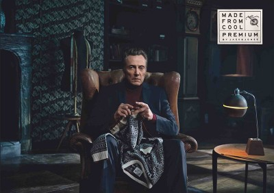 Christopher Walken knits for Jack and Jones