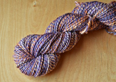 Blood Orange yarn.
