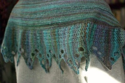 Saranac shawl