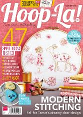 Hoop-La even when I don't have time to stitch, I can read about it.