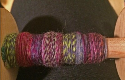 A singles of drafted blended polwarth.