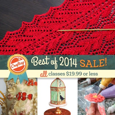 Craftsy's biggest sale!