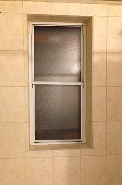 Who puts a window INSIDE a shower? Well, it's mine and I'm gonna keep it clean, dangit.