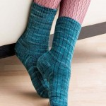 Custom Socks - The Basic Ribbed Sock beauty image - Copy