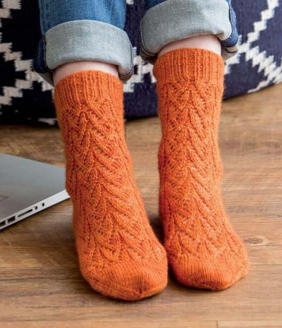 Custom Socks - The Oh, Valencia! Sock beauty image - Copy