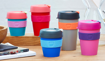 a variety of KeepCups. How could you pick just one?