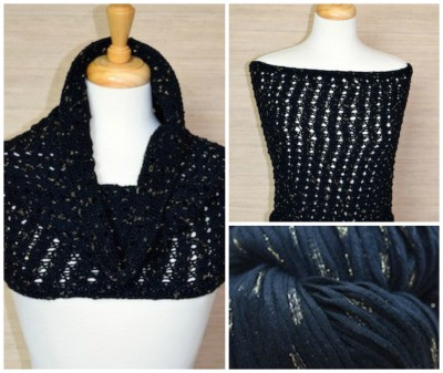 Midnight Wrap Knitting Kit