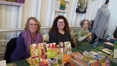 Storey Publishing signing table at rhinebeck