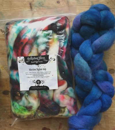 Hedgehog Fibers and MJ Yarns - the color!