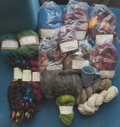 Fiber,fiber, fiber, yarn!