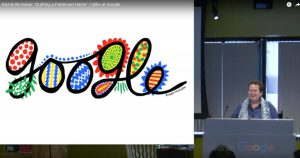 "Kristin Nicholas gave a talk at Google about ""Crafting a Patterned Home""."