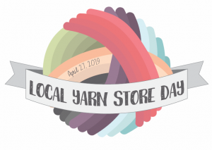 LYS Day yarn ball logo - April 27, 2019